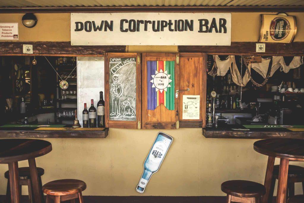 Corruption Bar