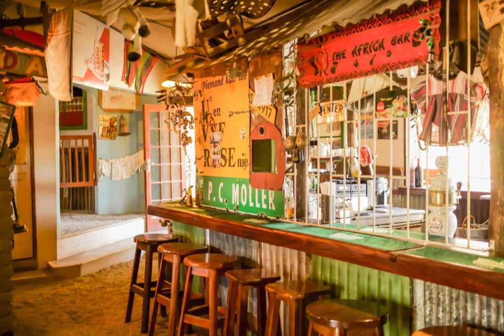 Interior of Corruption Bar