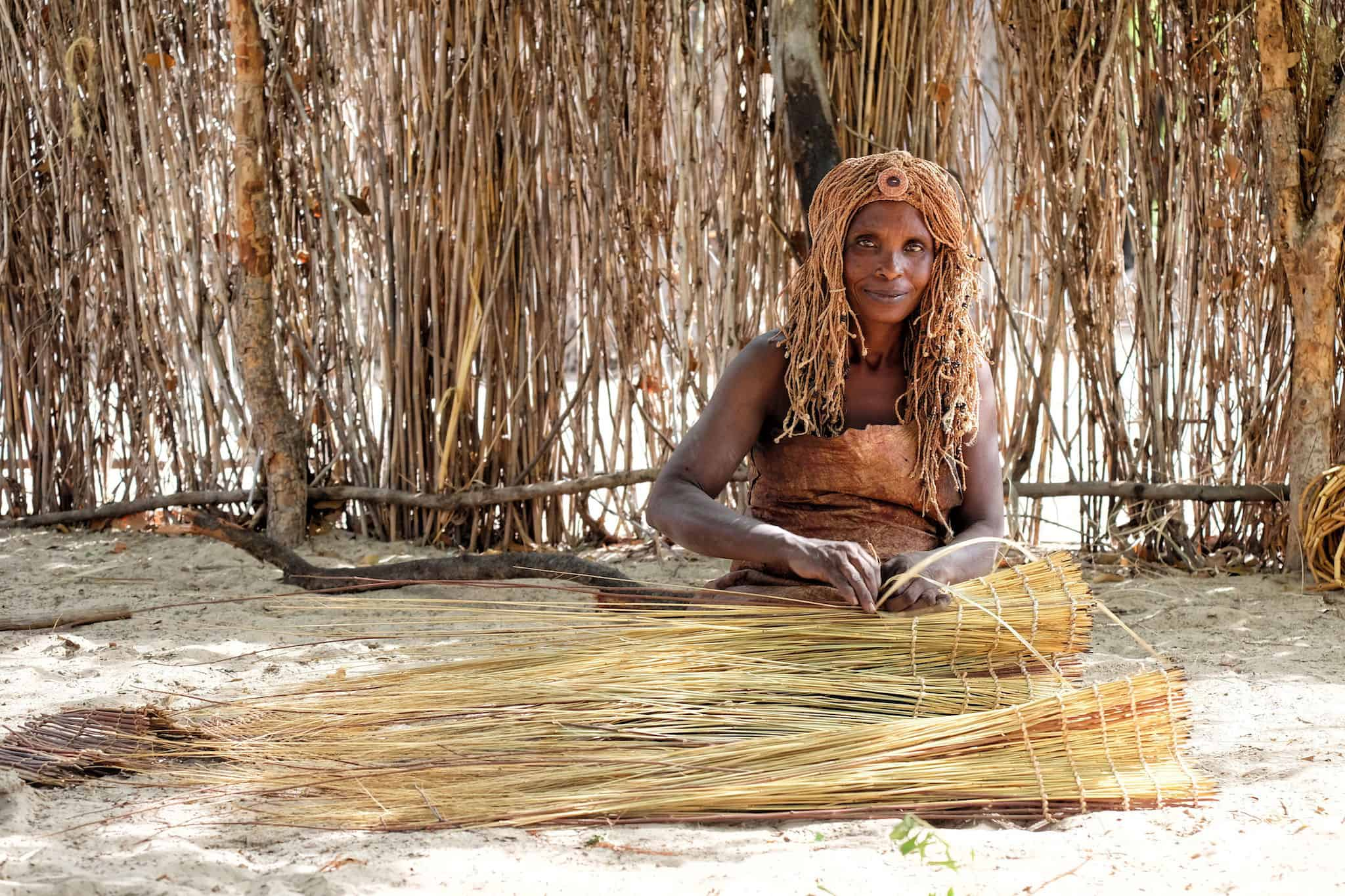Kavango Woman in Namibia