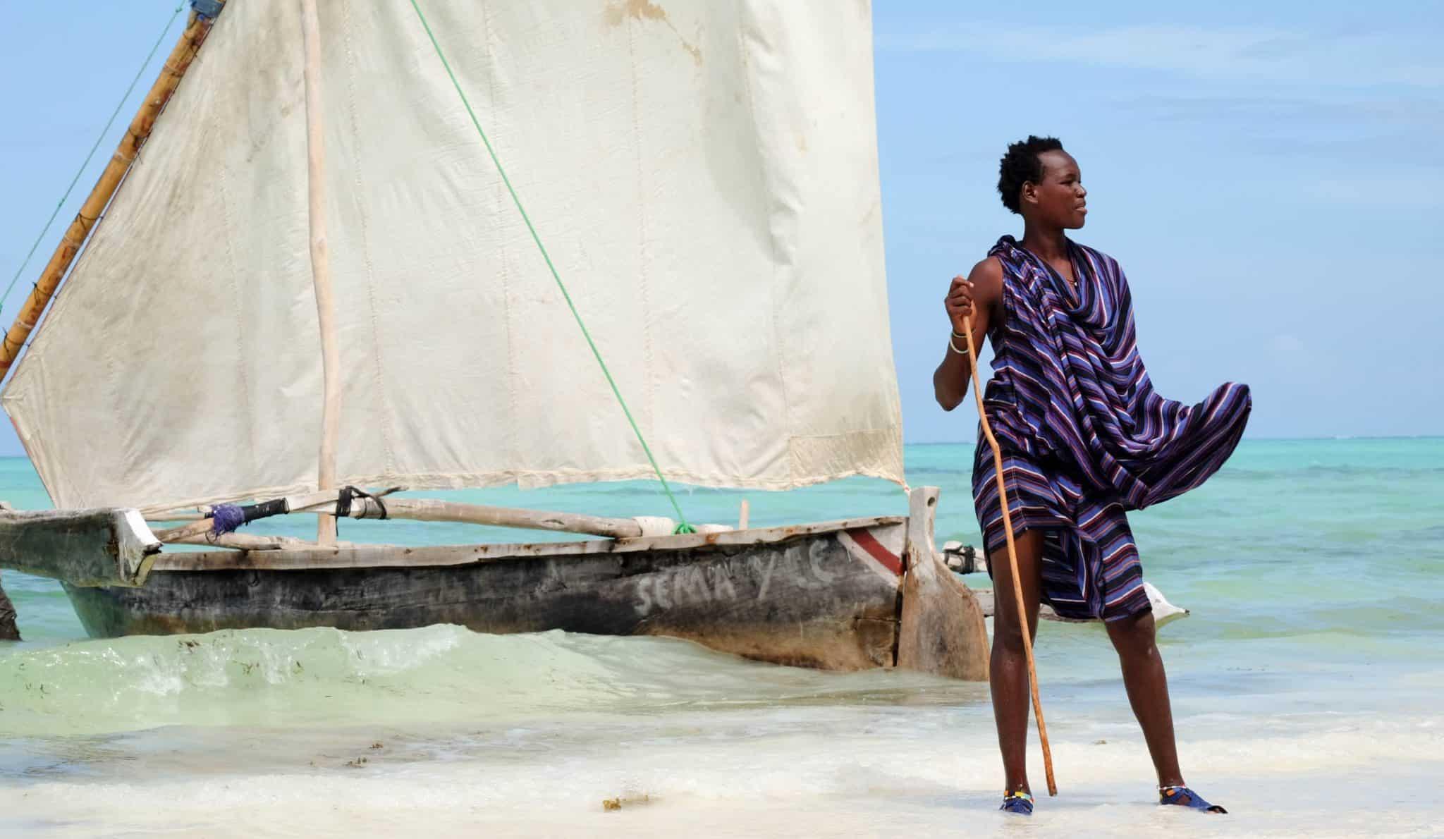 Masai on Zanzibar