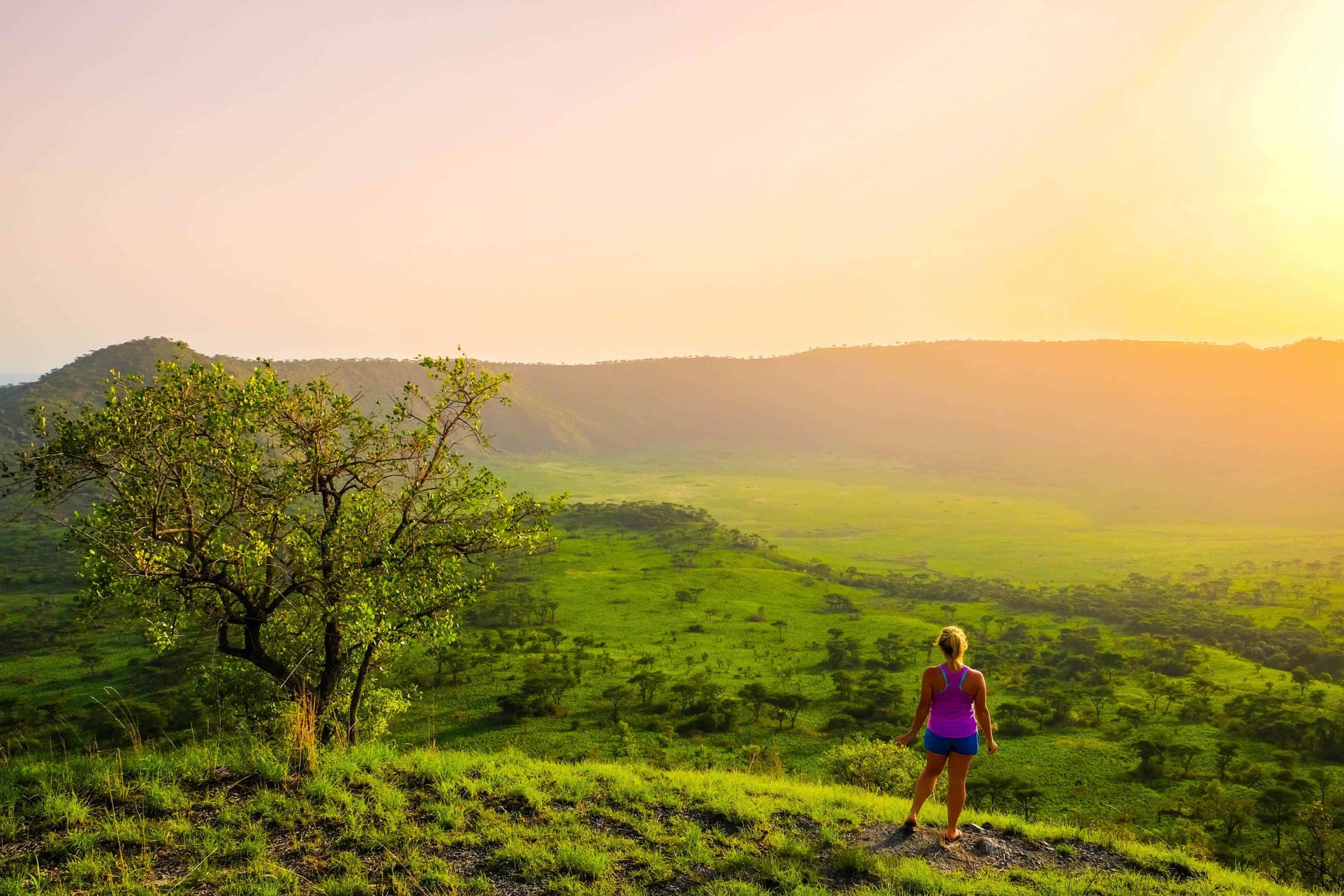 Sunset in Uganda