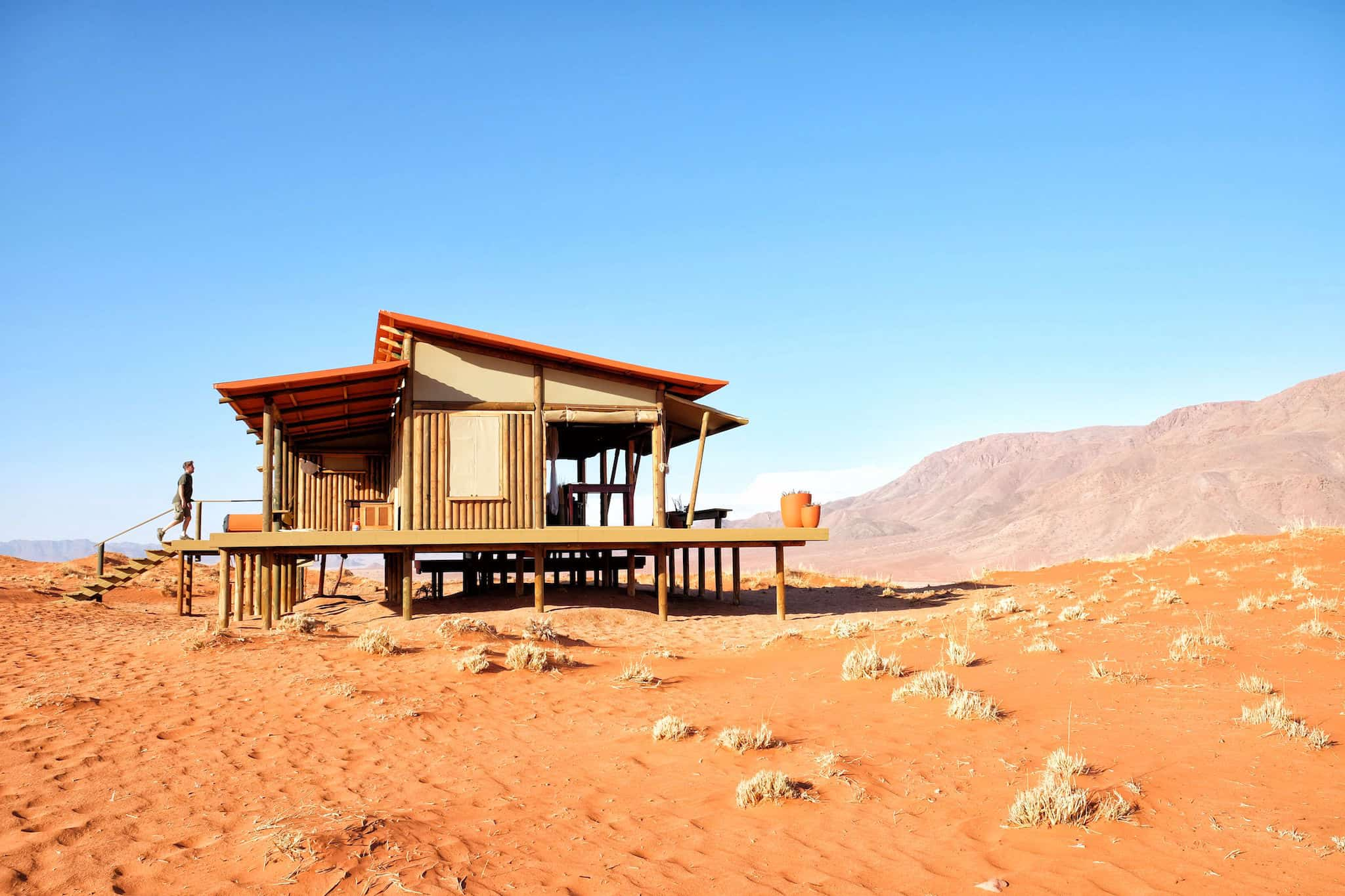 Wolwedans Dune Lodge in Namibia